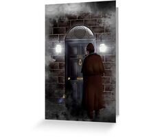 Haunted house Baker street 221b Greeting Card