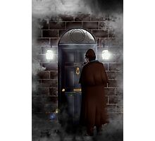 Haunted house Baker street 221b Photographic Print