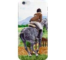 Jumping Horse iPhone Case/Skin