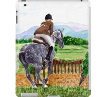 Jumping Horse iPad Case/Skin