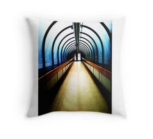 Mather Hospital Throw Pillow