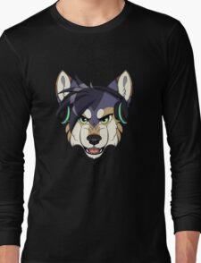 Headphone Wolf Long Sleeve T-Shirt