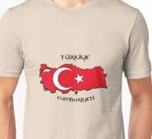 Zammuel's Country Series - Turkey (Türkiye Cumhuriyeti V1) Unisex T-Shirt