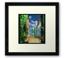 Ocean Invasion #5: Prawns of the Sonoran Framed Print