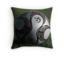 Fifa South Africa Soccer Ball Throw Pillow