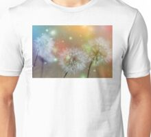 Dandelion filed Unisex T-Shirt