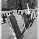 Cemetery with Leaning Stones by Debbie Robbins