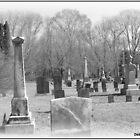 Cemetery in Moosup, CT by Debbie Robbins