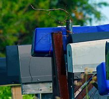 Mailboxes by Gene Campbell