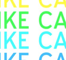 I like cake -rainbow ver Sticker