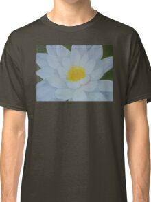 "Fine art. Water Lillie ""Tenderness""Oil painting. Nature. Flower Classic T-Shirt"