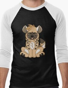 Cute Chibi Hyena Men's Baseball ¾ T-Shirt
