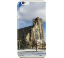 Church of St. Mary/St. Paul in Winter II iPhone Case/Skin