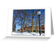 Our Town in March Greeting Card