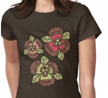 Bloom Bust Womens Fitted T-Shirt