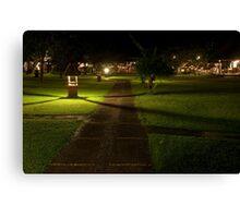 Taman Sari Permuteran Nightlife Canvas Print