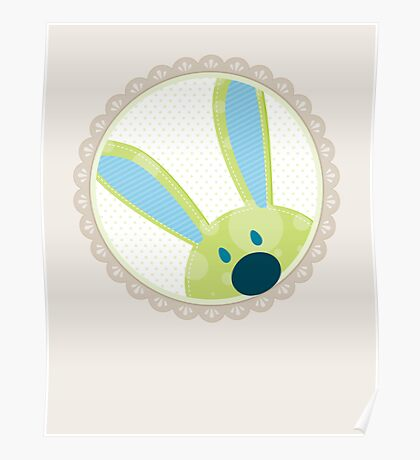 BUNNIES :: peeking circle 3 Poster