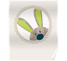 BUNNIES :: peeking circle 4 Poster