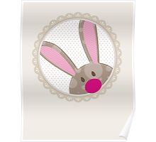 BUNNIES :: peeking circle 5 Poster