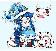 Winter Wonder Lulu Chibi - League of Legends Photographic Print