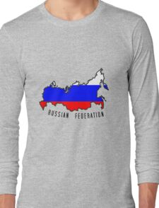 Zammuel's Country Series - Russia (Russian Federation V1) Long Sleeve T-Shirt