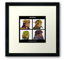 Gorillaz Demon Days - Demacia League of Legends Framed Print