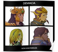 Gorillaz Demon Days - Demacia League of Legends Poster