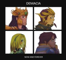 Gorillaz Demon Days - Demacia League of Legends by linkitty