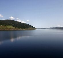 Loch Ness reflections by celticfae01