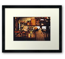 i'll have the fish Framed Print