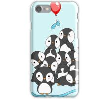 Penguin mountain iPhone Case/Skin