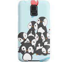 Penguin mountain Samsung Galaxy Case/Skin