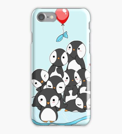 Penguin mountain iPhone Case/Skin