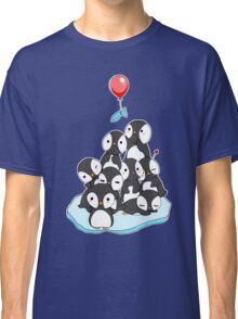 Penguin mountain Classic T-Shirt