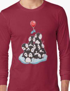 Penguin mountain Long Sleeve T-Shirt