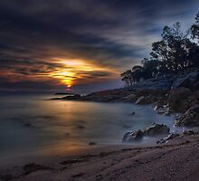 Coles Bay Sunset by Tony Phillips