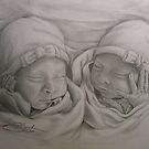 Twins by Sandy Sparks