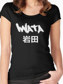 Iwata Black Women's Fitted Scoop T-Shirt