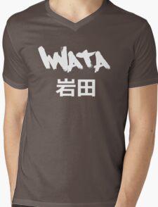 Iwata Black Mens V-Neck T-Shirt