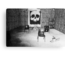 A Sleepers Dream in the Tomb of the Unknown Human Canvas Print