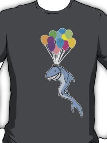 Happy Balloon Says Go Shark Go! T-Shirt