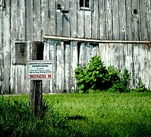 No Trespassing by Taylor Katz