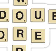 double word score Sticker