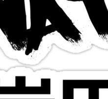 Iwata White Sticker