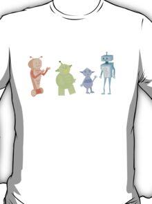Colourful Bot Squad T-Shirt