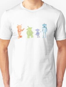 Colourful Bot Squad T-Shirt
