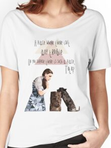 Dorothy and Toto's Place //pastel Women's Relaxed Fit T-Shirt