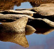 Pindaring Rocks ~ Greenough River ~ VI by Pene Stevens