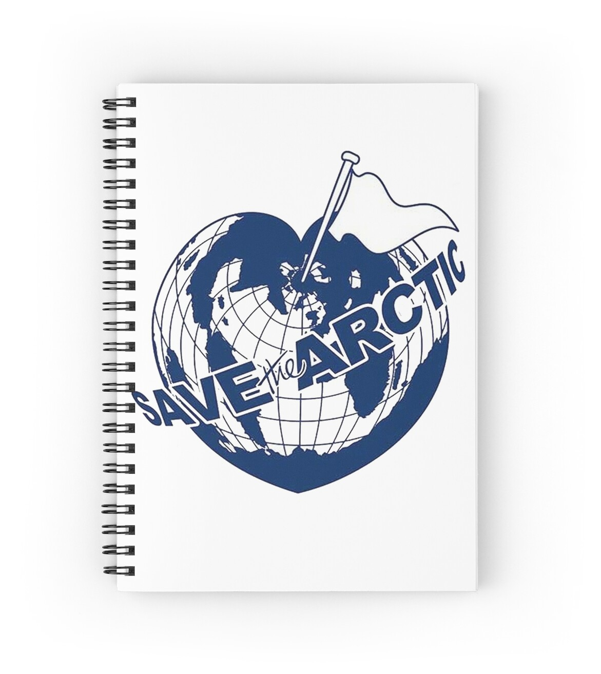 Wall Art Greenpeace : Quot save the arctic greenpeace spiral notebooks by rebecca