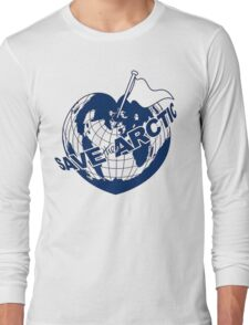 SAVE THE ARCTIC - GREENPEACE Long Sleeve T-Shirt